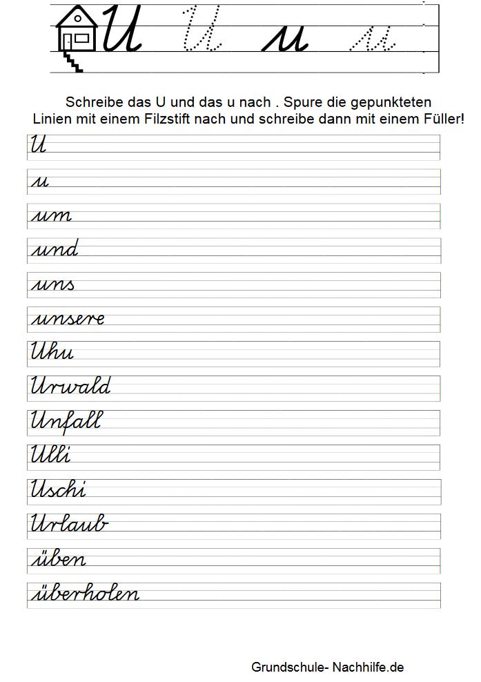 Grundschule Nachhilfe De Arbeitsblatt Nachhilfe Deutsch